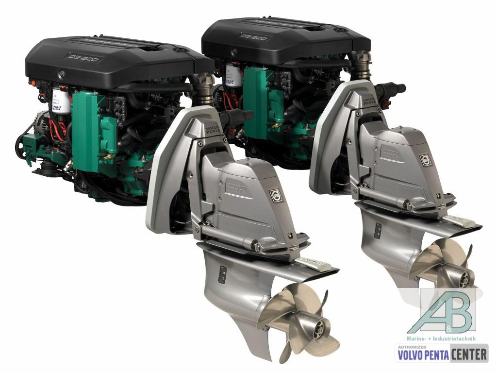 Volvo Penta D3-220 mit DPS Aquamatic, EVC EC * Diesel * A ...
